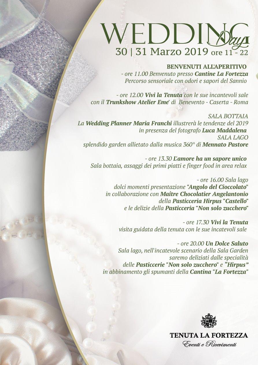 Wedding Day Benevento - Tenuta La Fortezza