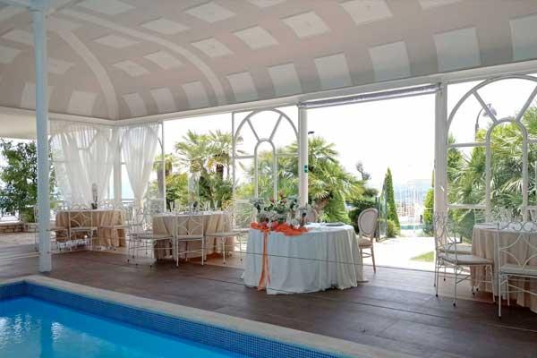 Location Matrimonio con piscina